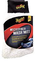 Meguiar's X3002EU Microfiber Wash Mitt Микрофибровая рукавица, 20 х 25 см., фото 1
