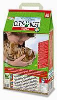 Наполнитель комкующийся древесный Cat's Best Oko Plus