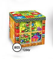 Упаковка новогодняя Домик 805