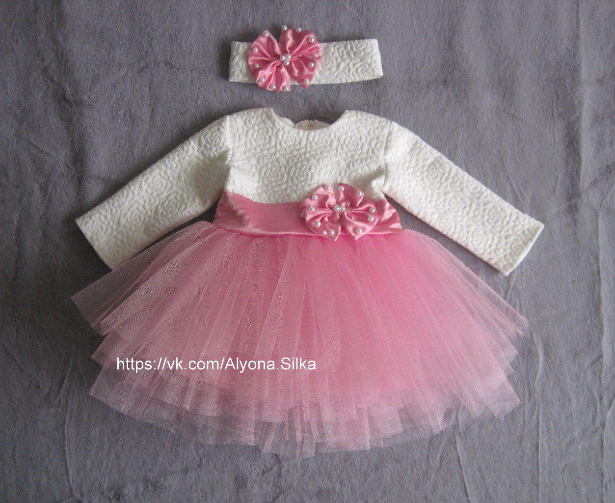 43a3f46376e Красивейшее платье на годик