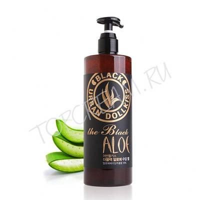 Успокаивающий гель с экстрактом алоэ BAVIPHAT Urban Dollkiss The Black Aloe Soothing Gel