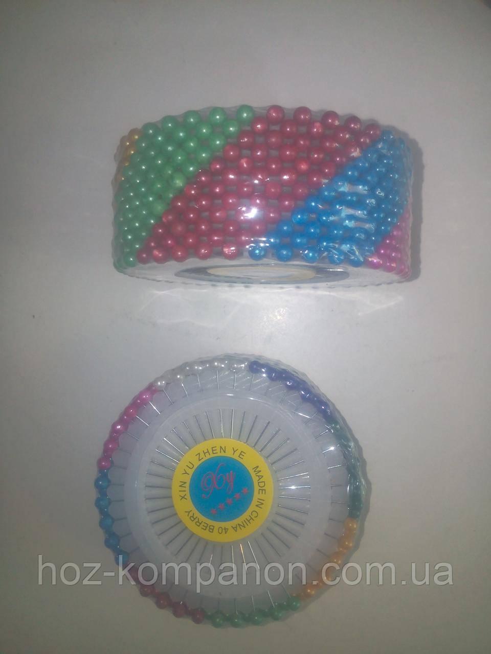 Булавки швейные с шариком