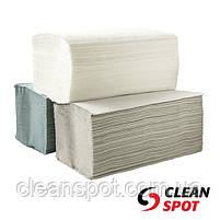 КС Полотенца бумажные листовые зеленые макулатурные 1слой 200листов, фото 2