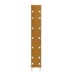 Листы для длинных шлифков Р80 Radex 70х420мм