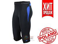 Спортивные женские шорты-тайтсы Radical Rapid 3/4 (original), компрессионные лосины-бриджи для бега, капри для