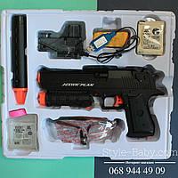 Автоматический пистолет на аккумуляторах