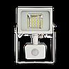 Св/діодний прожектор V-TAC з датчиком руху 20Вт smd білий 4500К