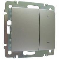 Диммер кнопочный 40-400 Вт, алюминий - Legrand Valena