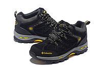 Мужские зимние ботинки Columbia black-yellow, фото 1
