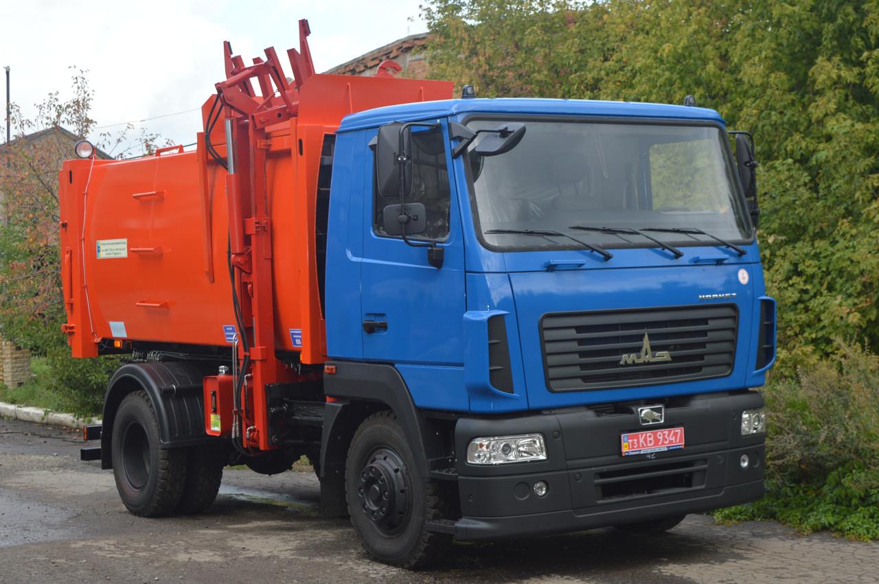 Сміттєвоз КО-431-03 з боковим завантаженням