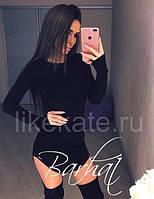 Платье женское мини черное