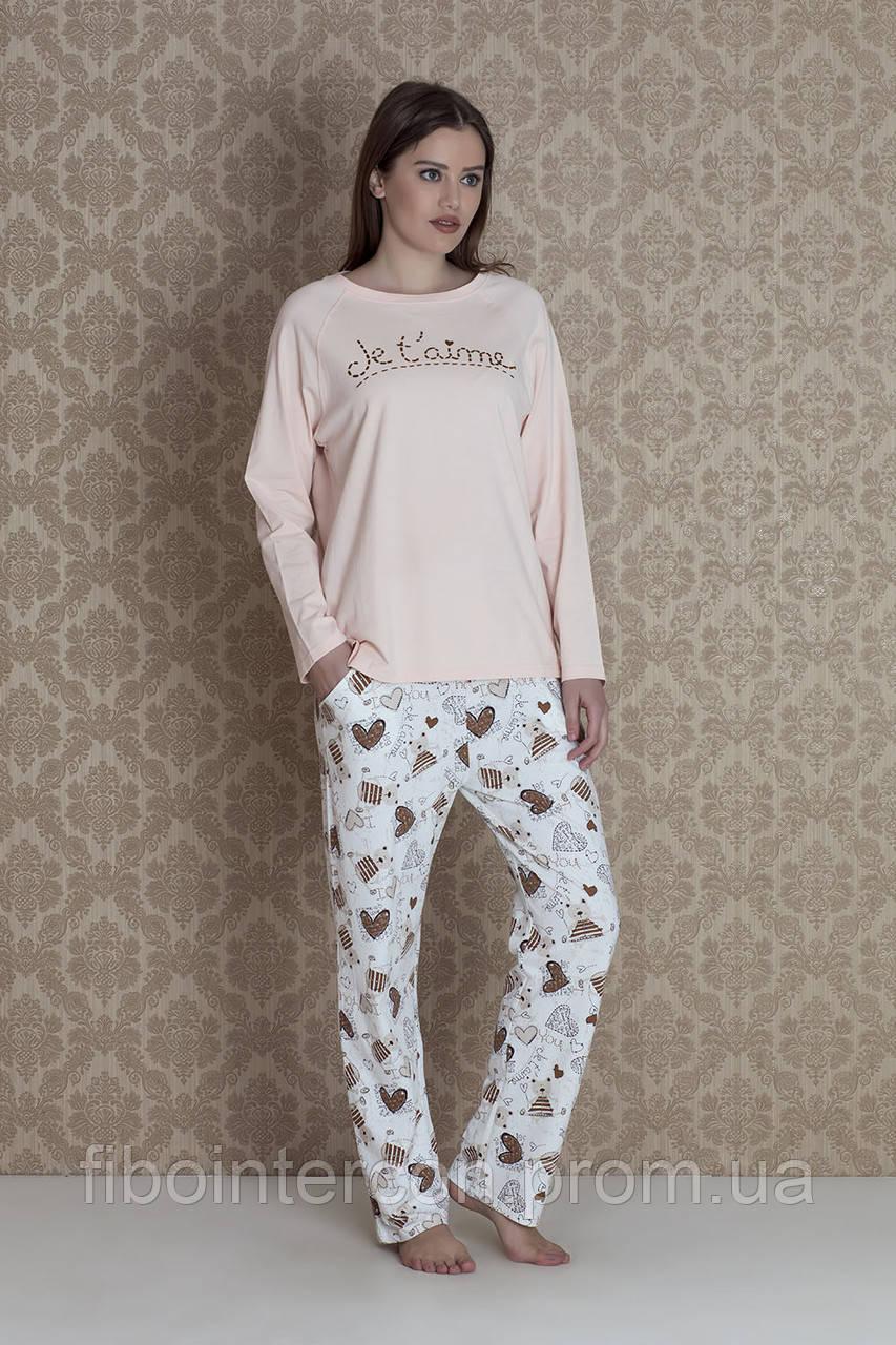44dadaf2e2b0d Женская пижама больших размеров Hays 17303. Коллекция одежды для дома HAYS  Зима 2018 - Интернет