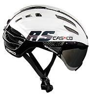 Велошлем Casco  SPEEDairo RS white-black