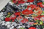 Шарф-снуд «Цветочный пиксель», фото 5