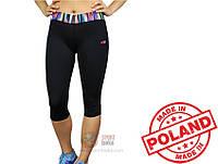 Спортивные женские лосины Radical Reaction 3/4 (original), компрессионные легинсы-бриджи для бега, леггинсы-ка