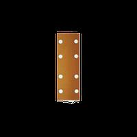 Листы для средних шлифков Р100 Radex 70х198мм