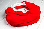 Шарф-снуд «Красная вафля», фото 3