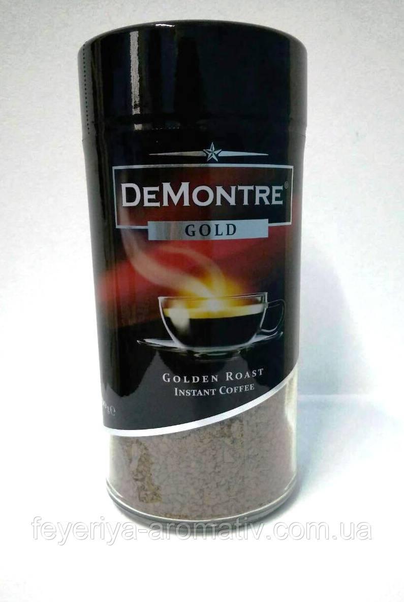 Кофе растворимый DeMontre Gold 200гр. (Польша)
