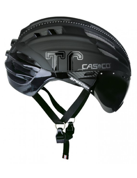 Велошлем Casco SPEEDster-TC  Plus white-black