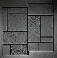 """Форма для изготовления искусственного камня """"Кирпич конструктор"""""""