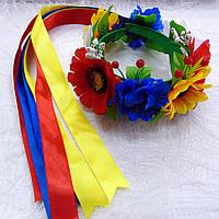 Украинский веночек Полевые цветы