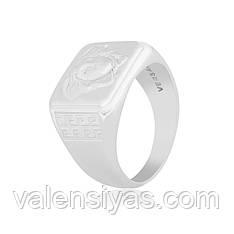Серебряное мужское кольцо К2/479