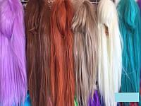 Парик карнавальный в ассортименте 70 см волосы