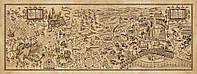Волшебная карта мародера из фильма Гарри Поттер