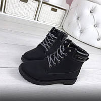 Ботинки тимберленды зимние женские 36р