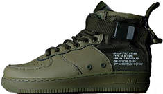 Женские кроссовки Nike Special Fled Air Force 1 Green