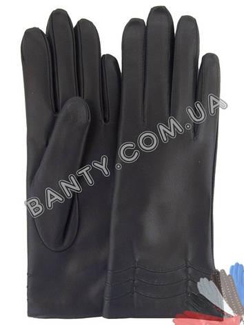 Женские перчатки на шерстяной подкладке, модель 013, фото 2
