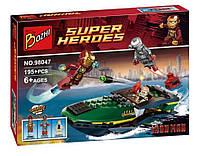 Конструктор серии Bozhi 98047 ( Аналог LEGO Super Heroes Битва в морском порту 76006)