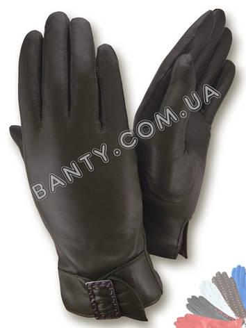Женские перчатки на шерстяной подкладке, модель 022, фото 2