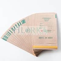Крафт пакеты 50х170 для паровой, воздушной стерилизации с индикатором самоклеющиеся (100шт/уп) Медтест