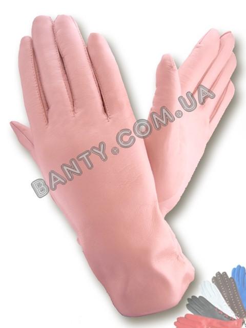 Женские перчатки на шерстяной подкладке, модель 029