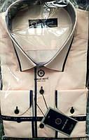 Стильная нарядная рубашка с окантовкой оптом, фото 1