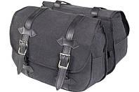 HIGHWAY 1 CANVAS SADDLE BAGS-SET 2X14 LITRES Сумки боковые текстильные, фото 1