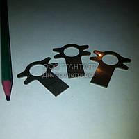 Шайба нержавеющая стопорная с лапкой 12 исполнение 2 ГОСТ 13463-77 ТАНТАЛ нержавеющая сталь 12Х18Н10Т
