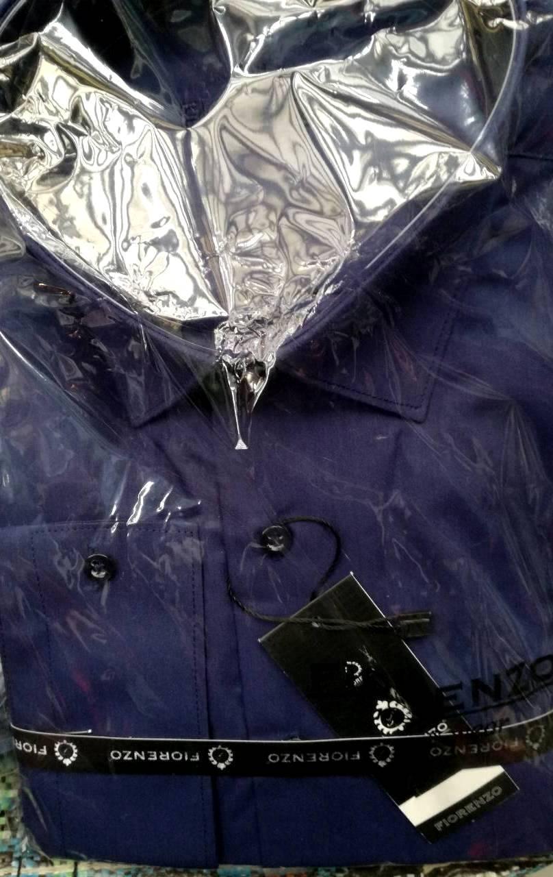 Стильная однотонная нарядная рубашка оптом, фото 1