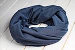 Шарф-снуд «Серо-синий», фото 3