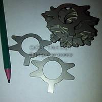 Шайба нержавеющая стопорная с носком 20 исполнение 2 ГОСТ 13465-77 ТАНТАЛ нержавеющая сталь 12Х18Н10Т