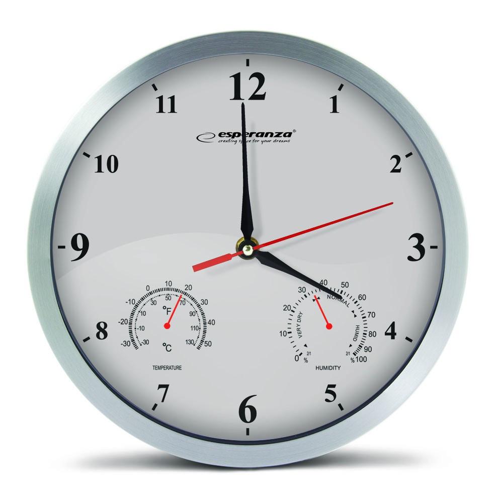Часы настенные Esperanza EHC008W Washington white