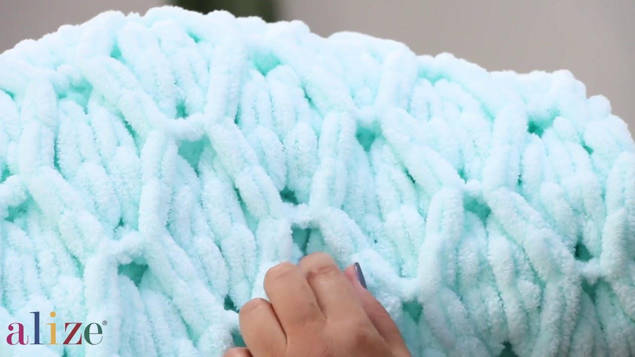 пряжа для вязания ализе пуффи