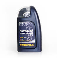 Моторное масло MANNOL 7818 Outboard 2-Takt Premium (1л)