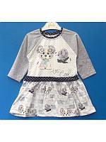 Красивое платье для девочки 2-4 года