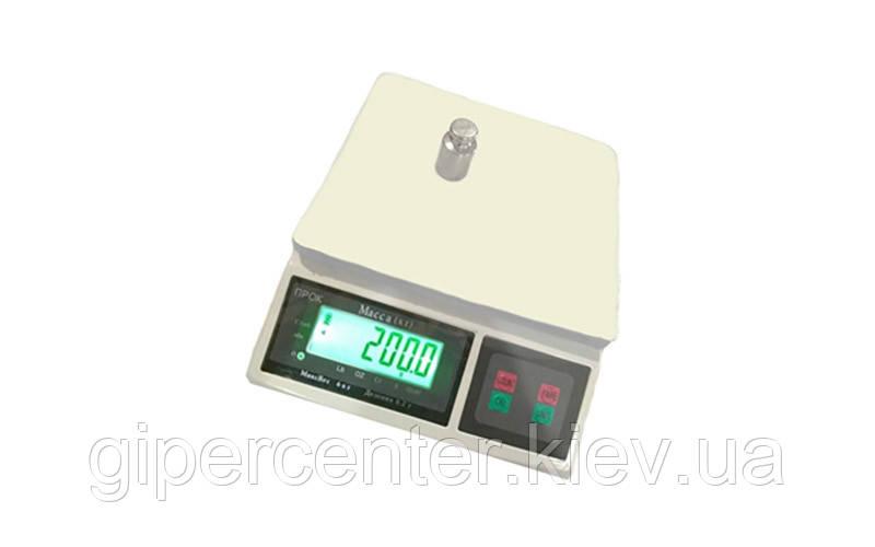 Весы фасовочные ПРОК ВФ-6 до 6 кг, дискретность 0.2 г