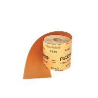 Абразивный материал в рулонах Р 280 Radex  115мм х 50м