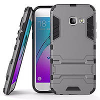 Чехол накладка HONOR Hard Defence Series Samsung A520 (A5-2017) Space Gray