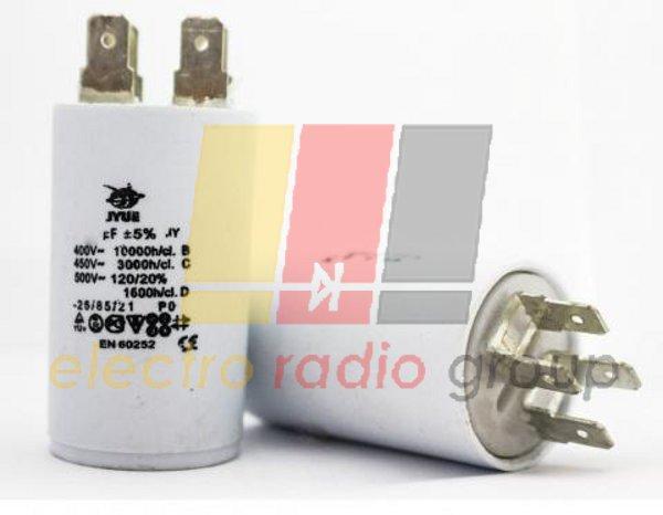 CBB-60 H    150 mkf - 450 VAC   (±5%)   выв. КЛЕММЫ  JYUL (65*130 mm)