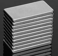Неодимовые магниты 20x10x2 мм, прямоугольные
